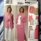 Simplicity Pattern # 5687 UNCUT Misses Tunic Top Jacket Skirt Pants Size 10 12 14 16 18