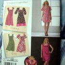 Simplicity Pattern # 2722 UNCUT Misses Summer Dress Size 16 18 20 22 24