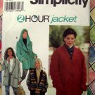 Simplicity Pattern # 9744 UNCUT Misses Jacket Size Large XL Extra Large