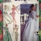 Simplicity Pattern # 8484 UNCUT Misses Wedding Dress Bridal Gown Size 6 8 10