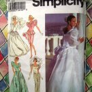 Simplicity Pattern # 8484 UNCUT Misses Wedding Dress Bridal Gown Size 12 14 16