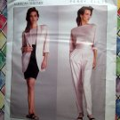 Vogue Pattern # 2053 UNCUT Misses Jacket Skirt Pants Top Size 14 Perry Ellis