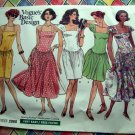 Easy Vogue Pattern # 2060 UNCUT Misses Summer Dress  Size 14