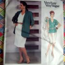 Easy Vogue Pattern # 2059 UNCUT Womans Jacket Top Skirt Size 26 28 30