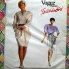 Rare Vogue Pattern # 2013 UNCUT Misses Jacket Skirt Blouse Size 6 8 10