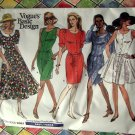 Vogue Pattern # 2061 UNCUT Misses Dress Size 6 8 10
