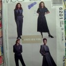 McCalls Pattern # 6201 UNCUT Misses Wardrobe Jacket Skirt Pants Size 12 14 16 Jones New York