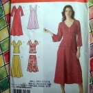 Simplicity Pattern # 3827 UNCUT Misses Womans Dress Top Skirt Size 20 22 24 26 28