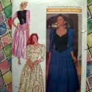 Butterick Pattern # 4517 UNCUT Misses Gown Special Occasion Dress Size 12 14 16 Vintage 1989