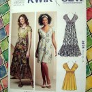 Kwik Sew Pattern # 3675 UNCUT Pull-Over KNIT Dress Size XS Small Medium Large XL