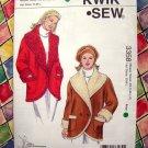 Kwik Sew Pattern # 3358 UNCUT Misses Loose Fitting Coat Size XS Small Medium Large XL
