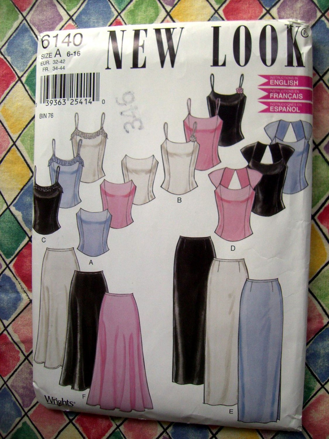 Simplicity New Look Pattern # 6140 UNCUT Misses Formal Top Skirt Size 6 8 10 12 14 16