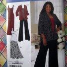 Simplicity Pattern # 2948 UNCUT Misses Knit Dress Jacket Pants Skirt Size 16 18 20 22 24