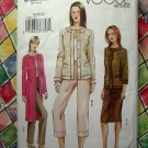 Vogue Pattern # 7860 UNCUT Womans Jacket Skirt Pants Sizes 18 20 22