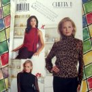 Butterick Pattern # 6878 UNCUT Misses Fancy Blouse Size 12 14 16