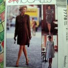 McCalls Pattern # 7776 UNCUT Misses Dress Unlined Jacket Skirt Size 16 18 20