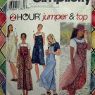 Simplicity Pattern # 9490 UNCUT Misses Jumper Top Size XS Small Medium