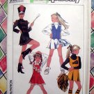 Simplicity Pattern # 8786 UNCUT Girls Cheerleader Majorette Costume Uniform Size 7