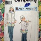 Simplicity Pattern #5946 Mother / Daughter Daisy Kingdom Fleece Coat Pattern
