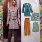 New Look Pattern # 6855 UNCUT Misses Tunic Blazer Pants Skirt Size 8 10 12 14 16 18