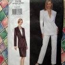 Vogue Pattern # 7578 UNCUT Misses Jacket Skirt Pants Pencil  Size 14 16 18