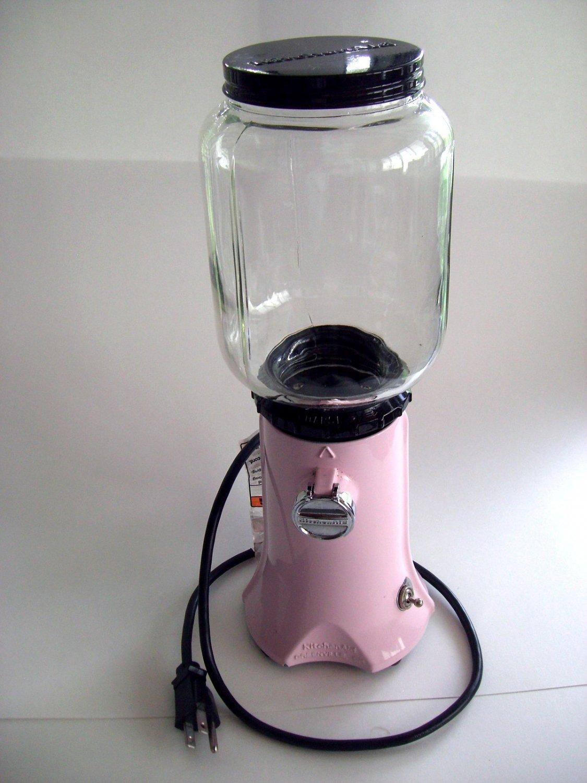 SOLD! Pink Kitchenaid Coffee Grinder