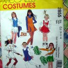 McCalls Pattern # 2855 UNCUT Girls Cheerleader or Majorette Uniform or Costume Size 10 12 14