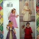 Butterick Pattern # 3236 UNCUT Girls Long Dress Costume SIze 2 3 4 5
