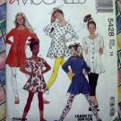 McCalls Pattern # 5428 UNCUT Girls Tunic Leggings---Stretch Knits Size 14
