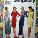 Simplicity Pattern # 8419 UNCUT Misses Womans Bias Dress Size 18 20 22