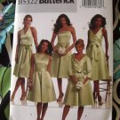 Butterick Pattern # 5322 UNCUT Misses/Women's Dress Formal Size 8 10 12 14