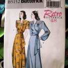 Butterick Pattern # 5152 UNCUT Retro Vintage Woman's Long Robe Size 16 18 20 22 24