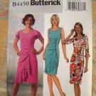 Butterick Pattern # 4450 UNCUT Misses Dress Ruffle Variations Size 10 12 14