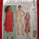McCalls Pattern # 5672 UNCUT Misses Tunic /Top Pants Size 16 18 20 22