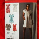 Sold!Simplicity Pattern # 2702 UNCUT Misses Dress or Top Size 6 8 10 12 14