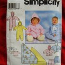 Simplicity Pattern # 7807 UNCUT Babies' Romper, Jacket, Pants, Blanket and Knit Top ALL Baby Sizes