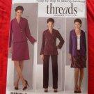 Simplicity Pattern # 2288 UNCUT Misses Jacket / Cardigan A-Line Skirt  & Pants Size 10 12 14 16 18