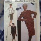 Simplicity Pattern # 9415 UNCUT Misses Skirt  Jacket Size 16 18 20 22 24