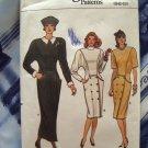 Vogue Pattern # 9746 UNCUT Misses Dress Sleeve Hem Variations Size 6 8 10