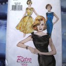 Butterick Pattern # 6582 UNCUT Misses Dress Retro 1960 Sizes 18  20 22 Mad Men