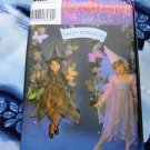 Simplicity Pattern # 4938 UNCUT Girls Costume Fairy Witch Size 3 4 5 6 7 8