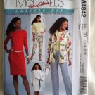 McCalls Pattern # 4842 UNCUT Misses Classic Wardrobe Dress Pants Size 12 14 16 18