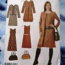 Simplicity Pattern # 4945 UNCUT Misses Dress Coat or Jacket Bag Size 16 18 20 22