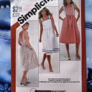 Simplicity Pattern # 5442 UNCUT Misses Summer Dress Size 8 10 12