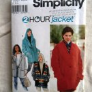 Simplicity Pattern # 9744 UNCUT Misses Set of Jackets / Coats Size XS S Medium