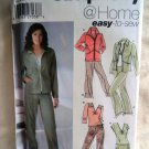 Simplicity Pattern # 5352 UNCUT Misses Leisure Pants Skort Jacket Size 6 8 10 12