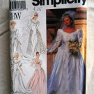 Simplicity Pattern # 8009 UNCUT Misses Bridal Gown Dress Size 18 20 22 24