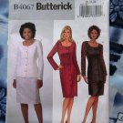 Butterick Pattern # 4067 UNCUT Misses Dress Skirt Top Size 20 22 24