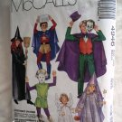 McCalls Pattern # 4946 UNCUT Childs Costume Size SMALL Cape Witch