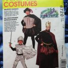 McCalls Pattern # 6720 UNCUT Boys Costume King Knight Robin Hood